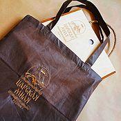 Сумки и аксессуары handmade. Livemaster - original item Eco-friendly handmade gift bag, with embroidery. Handmade.