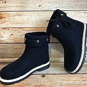 Обувь ручной работы. Ярмарка Мастеров - ручная работа Сапожки валяные. Handmade.