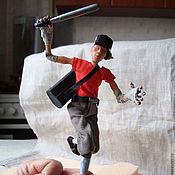 Куклы и игрушки handmade. Livemaster - original item Scout. Handmade.