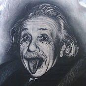 """Одежда ручной работы. Ярмарка Мастеров - ручная работа Футболка """"Эйнштейн"""". Handmade."""