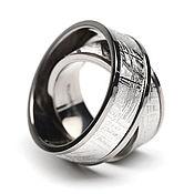 Украшения handmade. Livemaster - original item Wedding rings made of meteorite!!!!. Handmade.