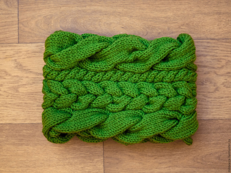 Снуд спицами для женщин: схемы вязания, новинки, узоры, размеры 26