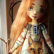Куклы и игрушки ручной работы. Ярмарка Мастеров - ручная работа Авторская текстильная кукла Арин. Handmade.