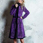 Одежда ручной работы. Ярмарка Мастеров - ручная работа Пальто женское!Пальто велюровое! Пальто дизайнерское. Handmade.