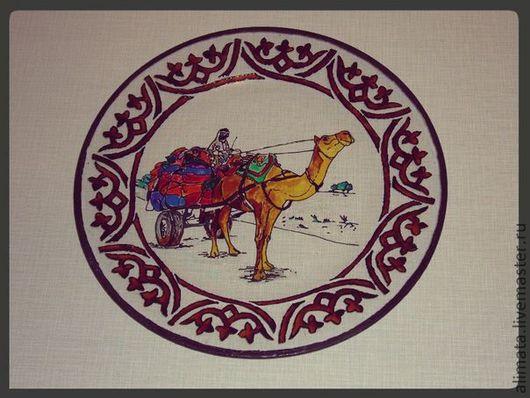 """Тарелки ручной работы. Ярмарка Мастеров - ручная работа. Купить Тарелка """"Бедуин"""". Handmade. Тарелка декоративная, тарелка сувенирная"""
