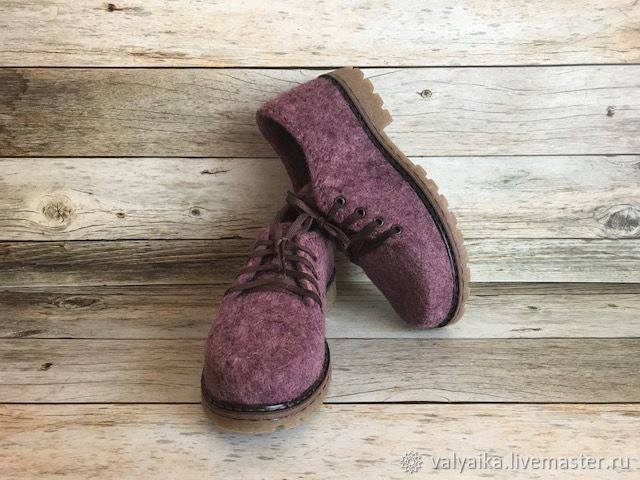 50cc1f48b4150 Обувь ручной работы. Ярмарка Мастеров - ручная работа. Купить Туфли валяные.  Handmade.