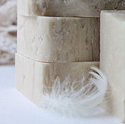 Шелковый нероли.Натуральное мыло с нуля(с кремом)