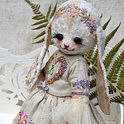 """Куклы и игрушки ручной работы. Ярмарка Мастеров - ручная работа Плюшевая зайка """"Виолетта"""". Handmade."""