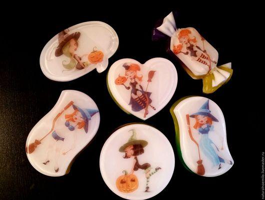 Мыло ручной работы. Ярмарка Мастеров - ручная работа. Купить Halloween 2. Handmade. Разноцветный, мыло ручной работы, подарок