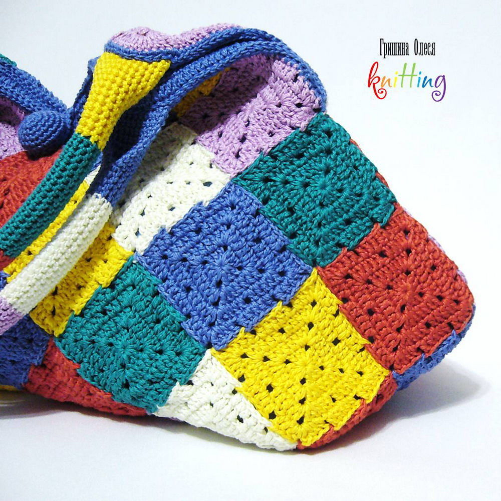 article 01-164-large size knitted bag, knit to order, summer bag, summer bag, summer