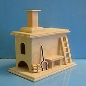 Печка домик для чайных пакетов