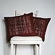 Текстиль, ковры ручной работы. Ярмарка Мастеров - ручная работа. Купить Комплект Бордо 3. Handmade. Вишня, сливки, комфорель