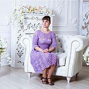 Одежда ручной работы. Ярмарка Мастеров - ручная работа Платье Сирень. Handmade.