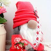 Сувениры и подарки handmade. Livemaster - original item Gnomes interior toy, buy Valentine`s Day gift. Handmade.