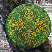 Музыкальные инструменты handmade. Livemaster - original item Oak. Diamonds leather 40 cm your BOOKING. Handmade.