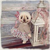 Куклы и игрушки ручной работы. Ярмарка Мастеров - ручная работа Мишка тедди Маруся.. Handmade.