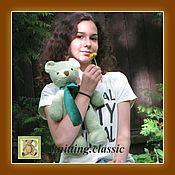Куклы и игрушки ручной работы. Ярмарка Мастеров - ручная работа Мишка Тедди - Лайл. Handmade.