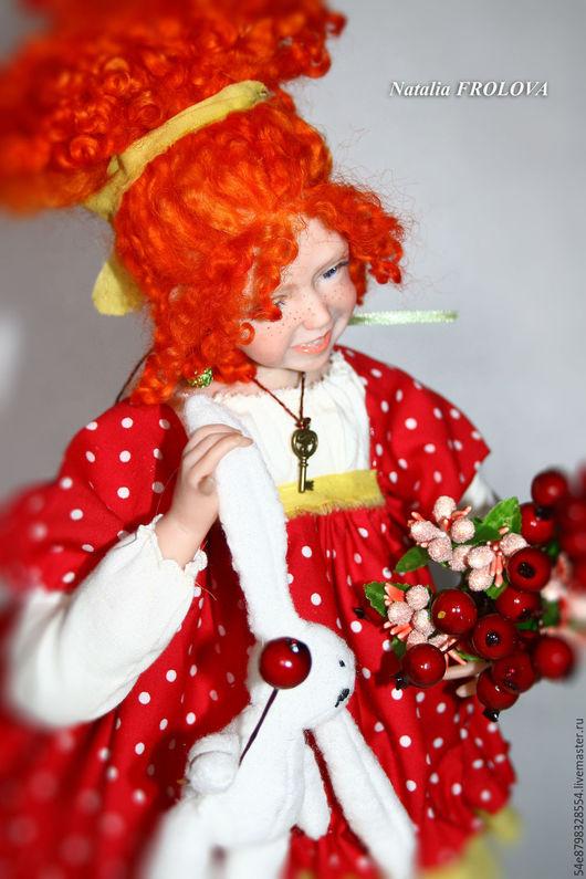"""Коллекционные куклы ручной работы. Ярмарка Мастеров - ручная работа. Купить ...""""Смотри, кого поймала!"""",,,. Handmade. Комбинированный, Ливинг долл"""