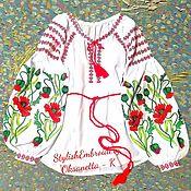 Одежда детская handmade. Livemaster - original item Children`s embroidery