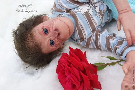 Куклы-младенцы и reborn ручной работы. Ярмарка Мастеров - ручная работа. Купить Реборн-орангутанг Ming Tao от Simon Laurens. Handmade.