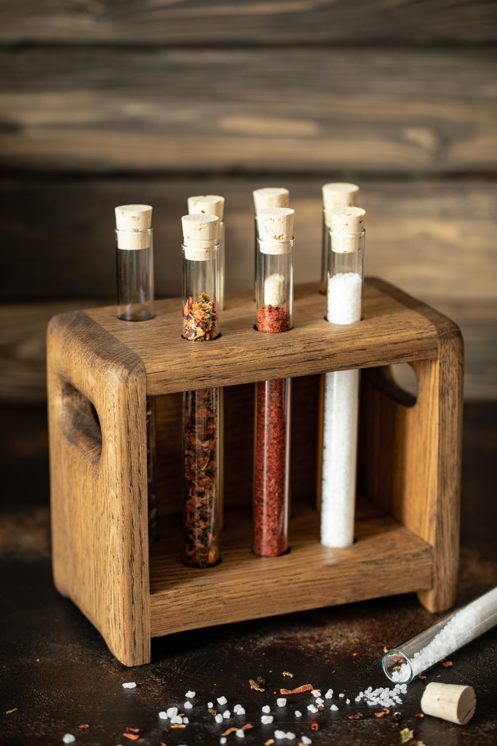 Oak stand for spices, Jars, Moscow,  Фото №1