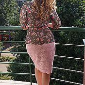 Одежда ручной работы. Ярмарка Мастеров - ручная работа жакет и кружевная юбка. Handmade.