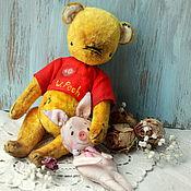 Куклы и игрушки ручной работы. Ярмарка Мастеров - ручная работа Винни Пух, Мишка Тедди. Handmade.