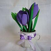 Цветы и флористика handmade. Livemaster - original item Spring flowers. Handmade.