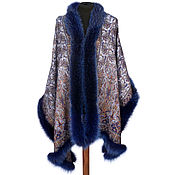 Аксессуары handmade. Livemaster - original item Stole with Fox fur. Handmade.