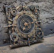Для дома и интерьера ручной работы. Ярмарка Мастеров - ручная работа Часы ТехноАрт-6 (настенные). Handmade.