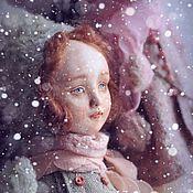 Куклы и игрушки ручной работы. Ярмарка Мастеров - ручная работа Тедди-доллочка Варенька. Handmade.