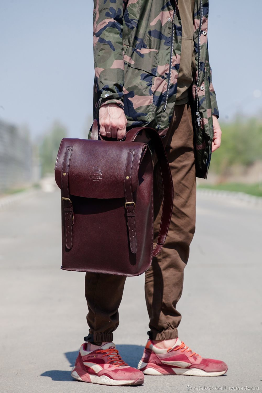 Backpack Leather PORTLAND, Backpacks, Volgograd,  Фото №1