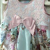 Работы для детей, ручной работы. Ярмарка Мастеров - ручная работа Платье ПЛТН 2085. Handmade.