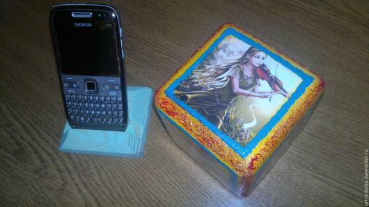 """Персональные подарки ручной работы. Ярмарка Мастеров - ручная работа. Купить Сувенир """"Куб на память"""". Handmade. Подарок, подарок на новый год"""