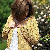 """Одежда ручной работы. Ярмарка Мастеров - ручная работа Жакет """"Sunny"""". Handmade."""