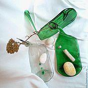 Для дома и интерьера ручной работы. Ярмарка Мастеров - ручная работа Гнутая бутылка. Handmade.