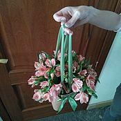 Подарки к праздникам ручной работы. Ярмарка Мастеров - ручная работа Букетик... в компанию.... Handmade.