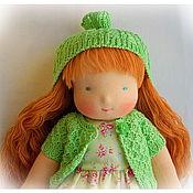 Куклы и игрушки ручной работы. Ярмарка Мастеров - ручная работа Вальдорфская кукла Смешинка. Handmade.