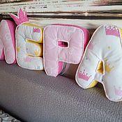 Текстиль ручной работы. Ярмарка Мастеров - ручная работа Мягкие буквы. Handmade.
