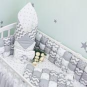 handmade. Livemaster - original item Bombon bumpers (set in a child`s bed ). Handmade.