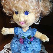 Мягкие игрушки ручной работы. Ярмарка Мастеров - ручная работа Кукла в голубом.. Handmade.