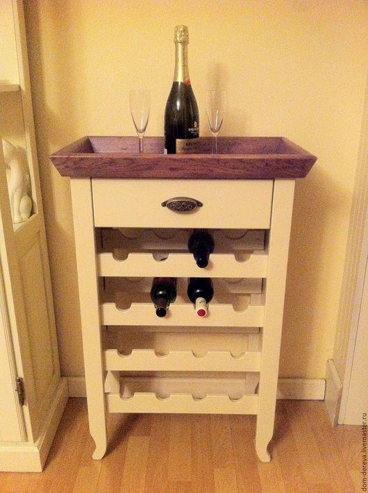 Мебель ручной работы. Ярмарка Мастеров - ручная работа. Купить Бар винный - арт. 031. Handmade. Напольная, мебель из дерева