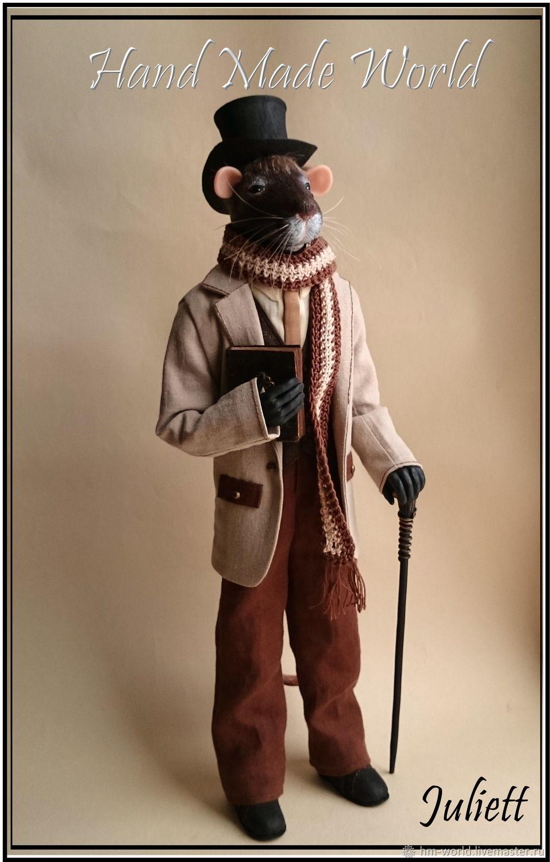 Year Of The Rat 2020: Author's interior doll ' Rats', Dolls, Ufa,  Фото №1