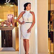Одежда handmade. Livemaster - original item White dress, designer dress, dress !. Handmade.