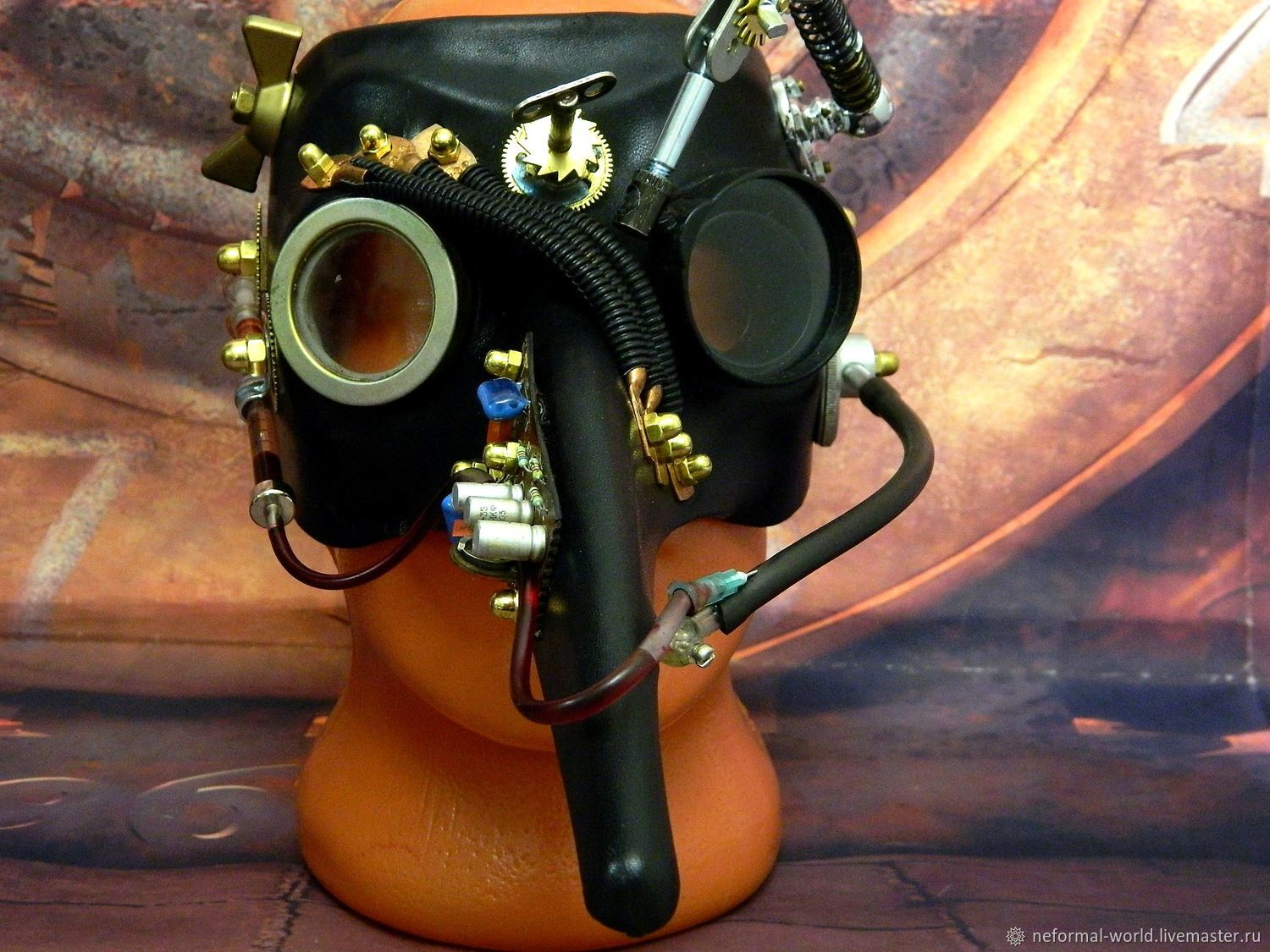 "Steampunk Mask ''Pipets Plague Doctor"", Character masks, Saratov,  Фото №1"