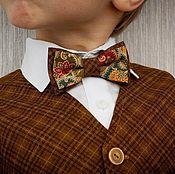 Одежда ручной работы. Ярмарка Мастеров - ручная работа Комплект жилет+бабочка. Handmade.