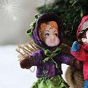 """Подарки к праздникам ручной работы. Ярмарка Мастеров - ручная работа ватная игрушка """"Маняша"""". Handmade."""