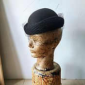 Аксессуары handmade. Livemaster - original item Dorkis hat with a veil. Handmade.