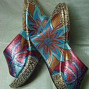 Обувь ручной работы. Ярмарка Мастеров - ручная работа брызги лета. Handmade.