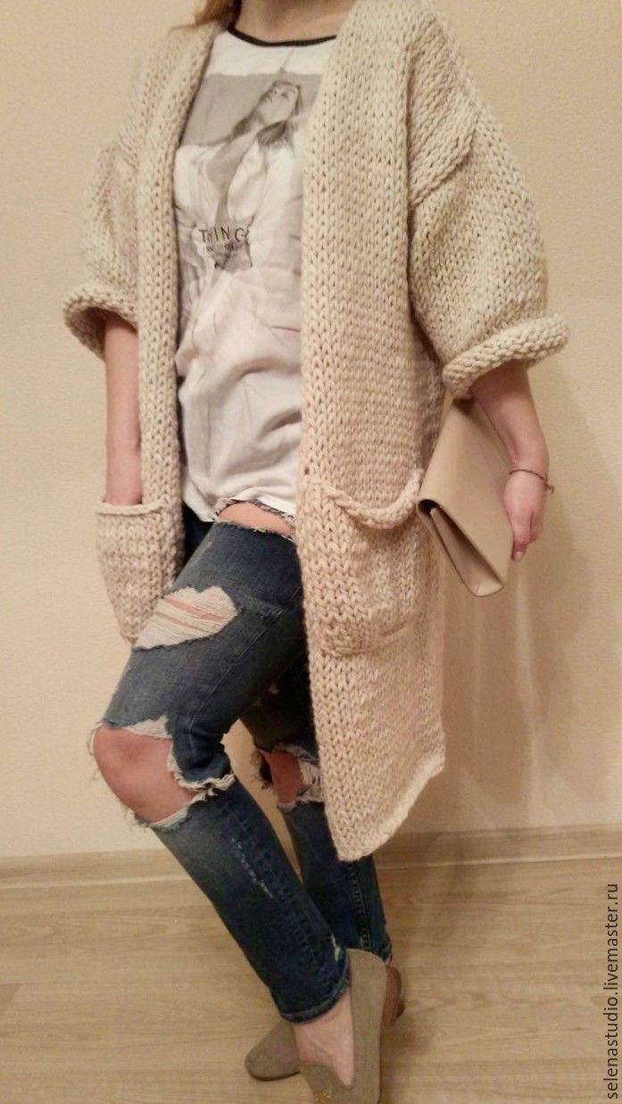красивые длинные туники свитера женские с доставкой